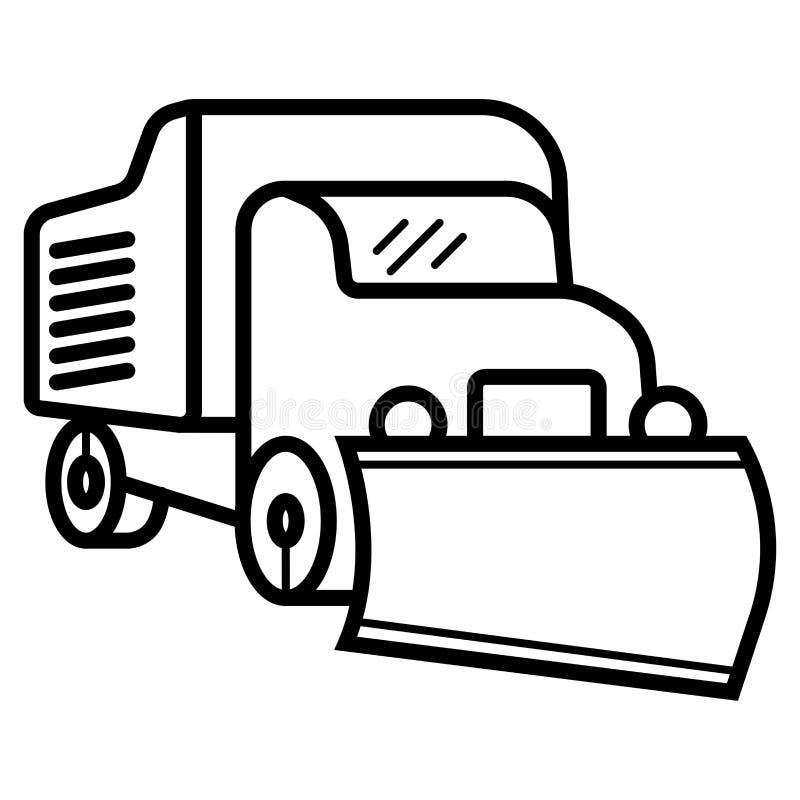 Bulldozer And Dump Truck Stock Vector Illustration Of