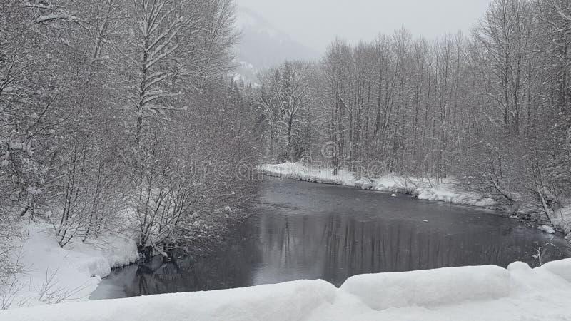 Snowqualmiepas, Washington 4 stock afbeelding