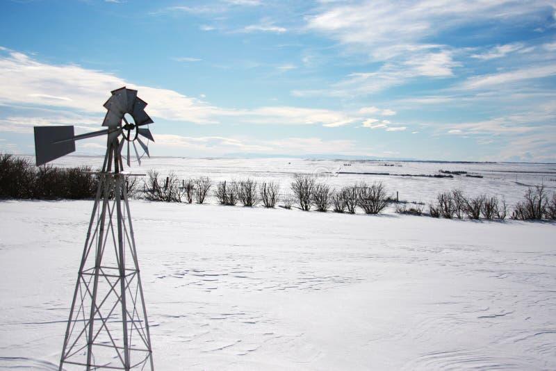 Snowscape foto de stock royalty free