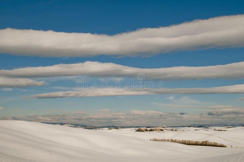 Snowscape photographie stock