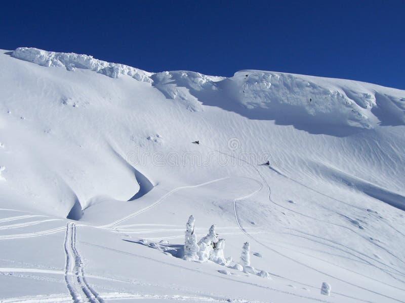 snowscape στοκ εικόνες