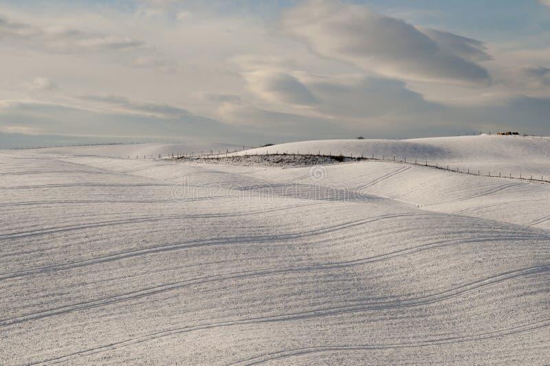 Snowscape de Peacefull photos stock