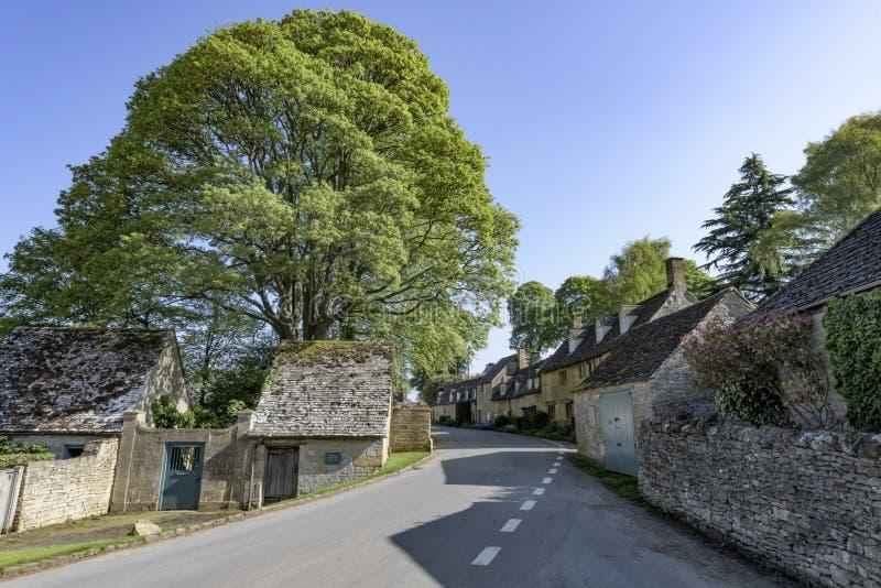 Snowshill Village; Gloucestershire; England; United Kingdom royalty free stock photo