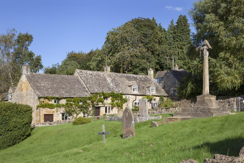 Snowshill, Worcestershire, Engeland royalty-vrije stock foto's