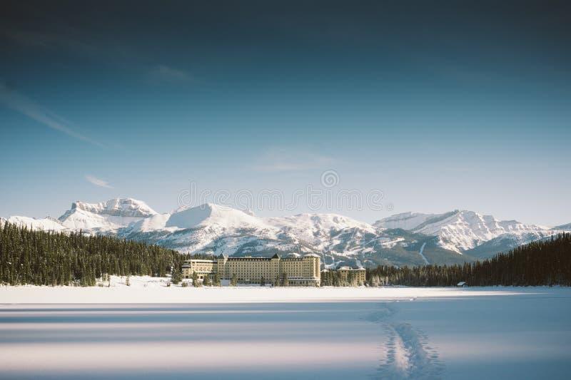 Lake Louise arkivfoton