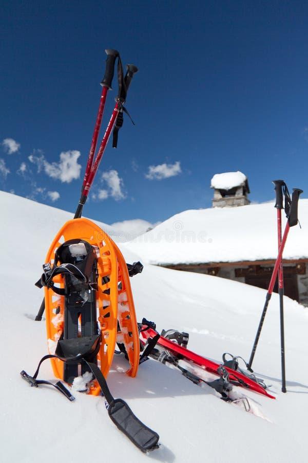snowshoes стоковые фото
