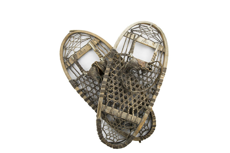 Snowshoes stock photography