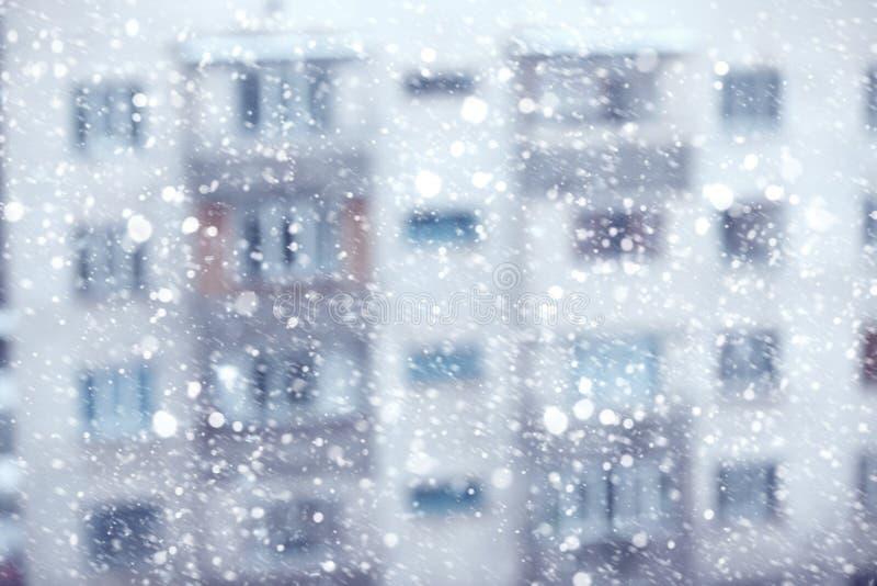 snowstorm royaltyfri bild
