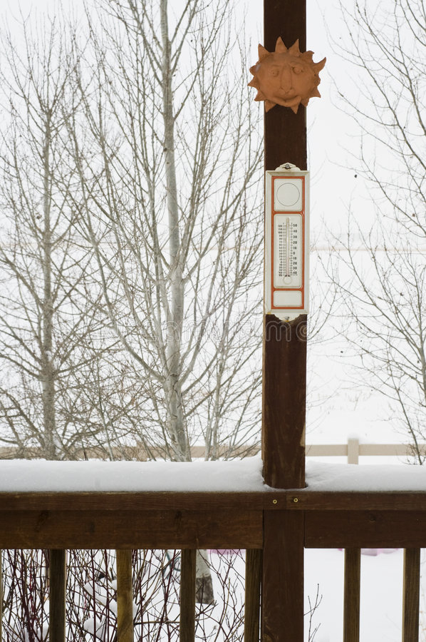 Download Snowy day in winter stock photo. Image of winter, retro - 7338210
