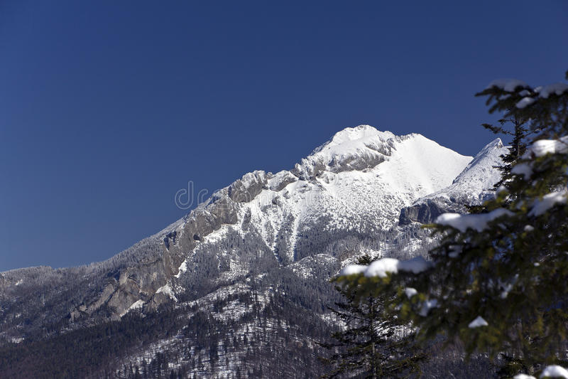 Download Snowy Hilltops Of Tatra Mountains In Poland In Win Stock Image - Image: 27664545