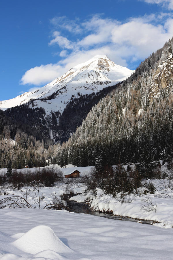 Free Snowy Landscape Stock Image - 44714201