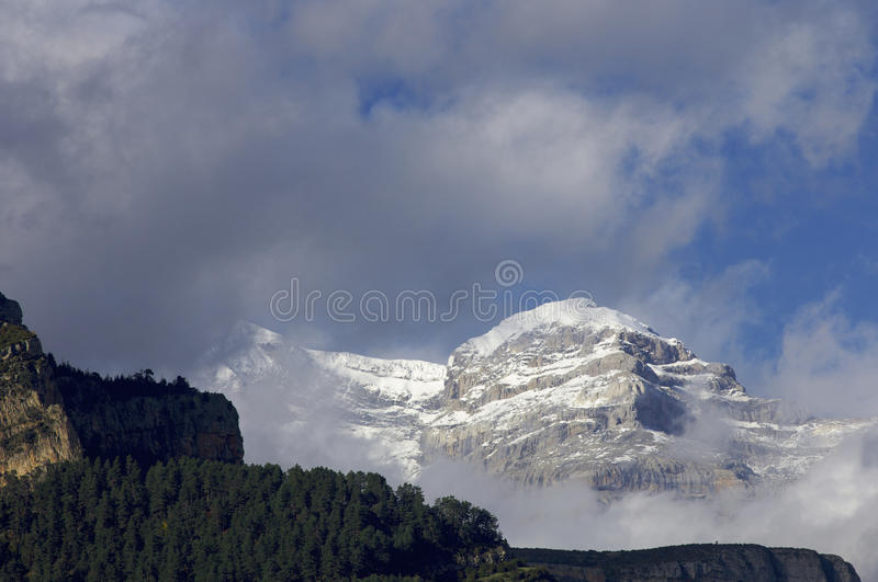 Download Snowy Mountains Stock Photo - Image: 12775230
