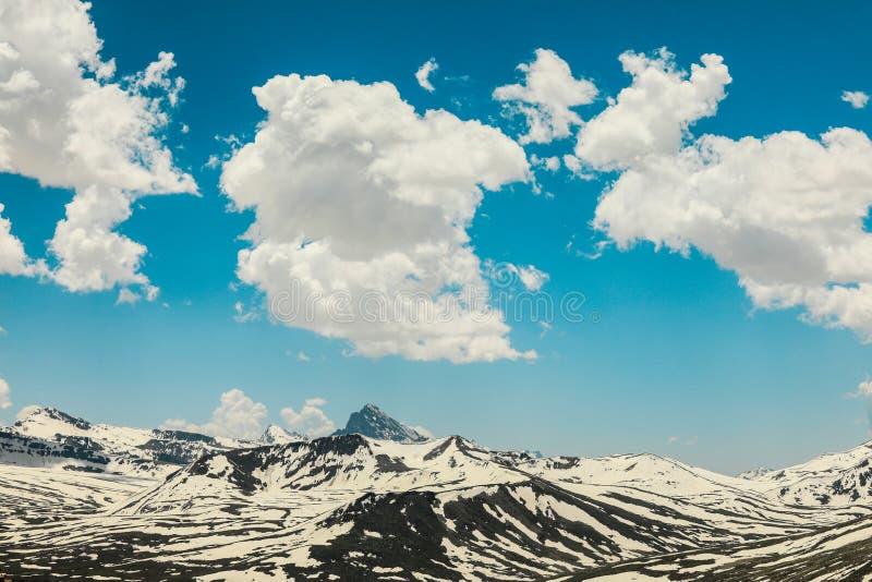 Snowy Peaks of the Gilgit Baltistan Mountains, Pakistan, Middle East stock photos