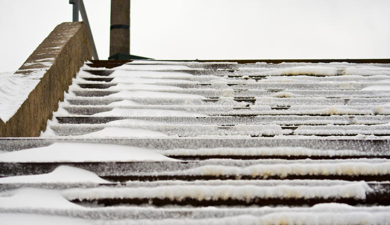 Download Snowy Stairs Stock Image - Image: 22830541
