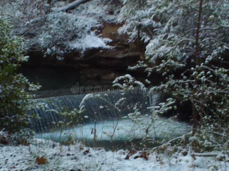 Snowy-Strom stockfoto