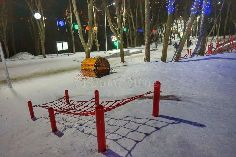 Snowy-Tag von Januar Dias für Kinder stockbilder