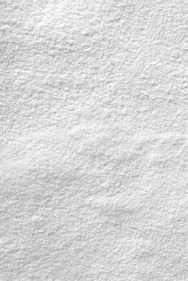 Snowy texture. Isolated on white royalty free stock photo