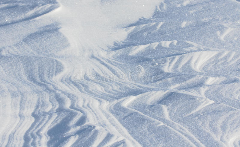 Snowy textures stock images