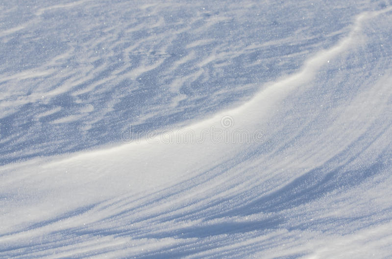 Snowy Textures Royalty Free Stock Images