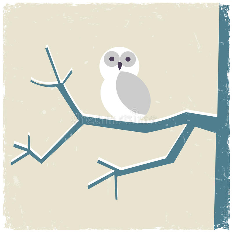Download Snowy white owl stock vector. Illustration of avian, nature - 27705325