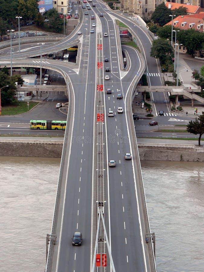 SNP bridge road royalty free stock photos