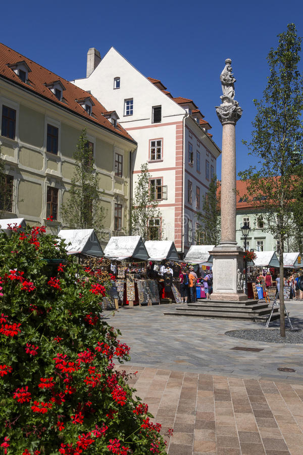 SNP Square - Bratislava - Slovakia royalty free stock images