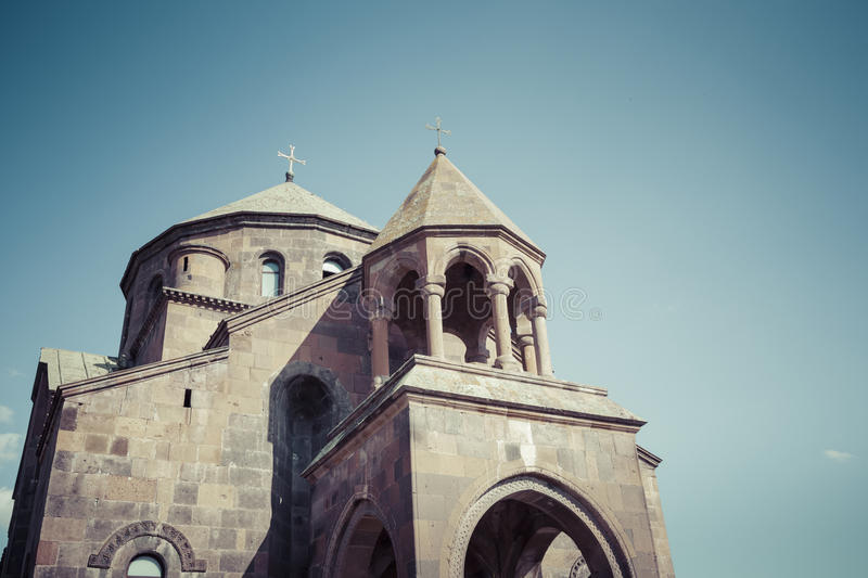 The Snt. Hripsime ancient church, Echmiadzin, Armenia.  stock image