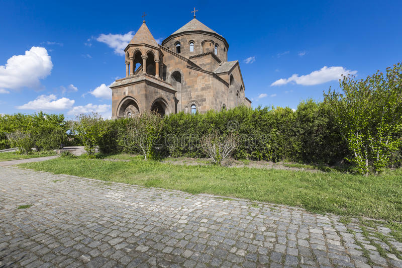 The Snt. Hripsime ancient church, Echmiadzin, Armenia.  stock photo