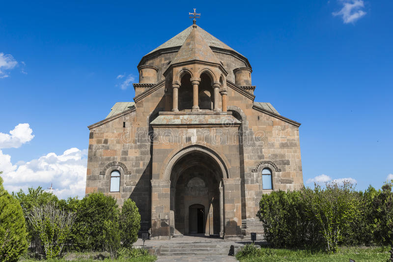 The Snt. Hripsime ancient church, Echmiadzin, Armenia.  stock photos