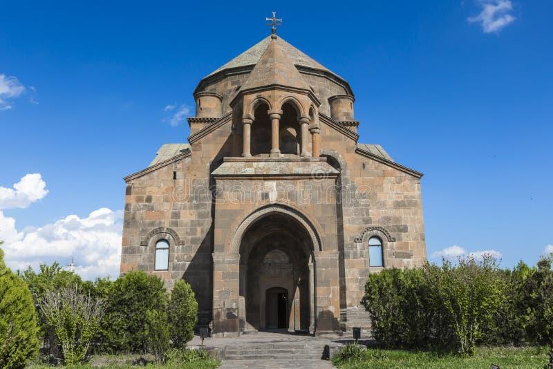 Snt Hripsime oude kerk, Echmiadzin, Armenië stock foto's