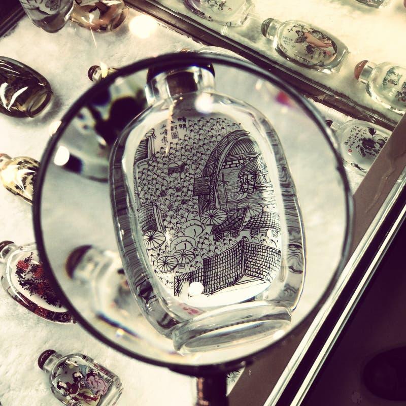 Snuff Bottle stock foto's