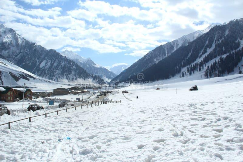 Soan Marg W Srinagar. obrazy stock