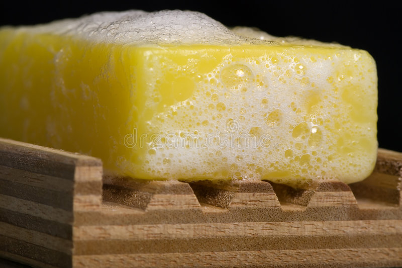 Download Soap 1 stock photo. Image of yellow, hygiene, bathroom - 1527098