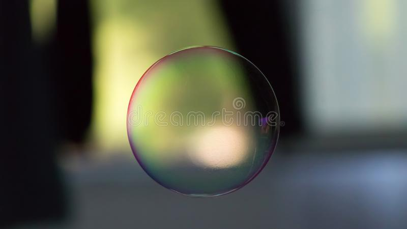 Soap ballon in the air royalty free stock image