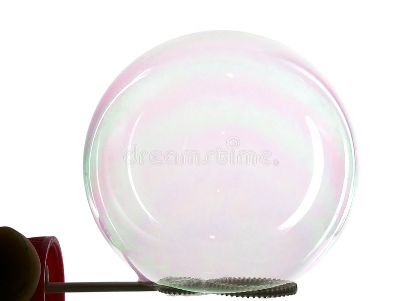 Soap-bubble stock photography