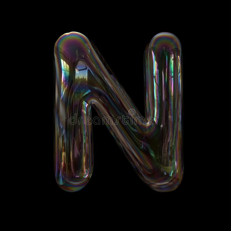 Capital 3d Transparent Font