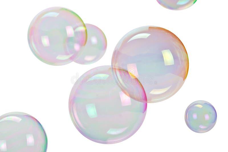 Soap bubbles stock photos
