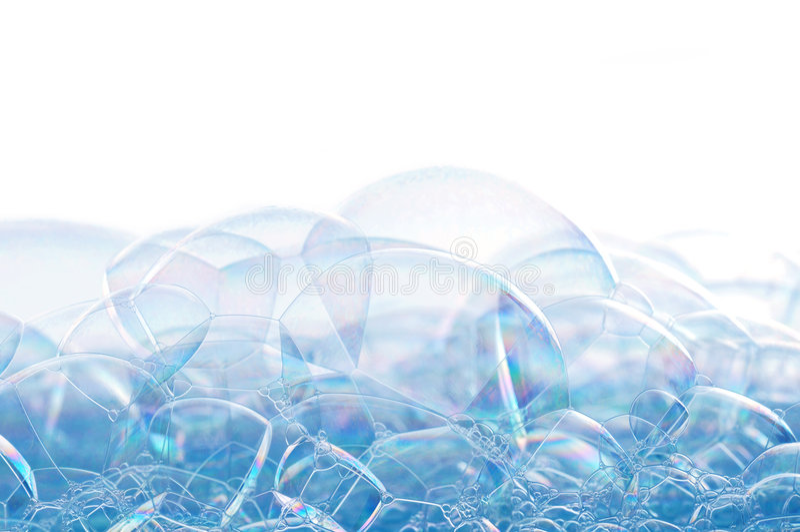 Soap bubbles royalty free stock photos