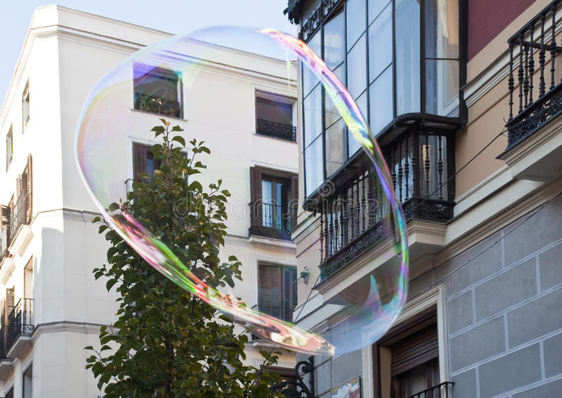Download Soap bubbles in the air stock image. Image of outdoors - 22240291