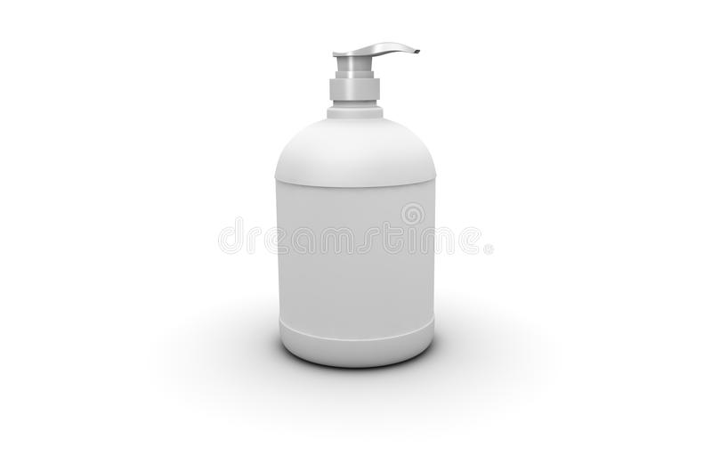 Soap dispenser stock illustration