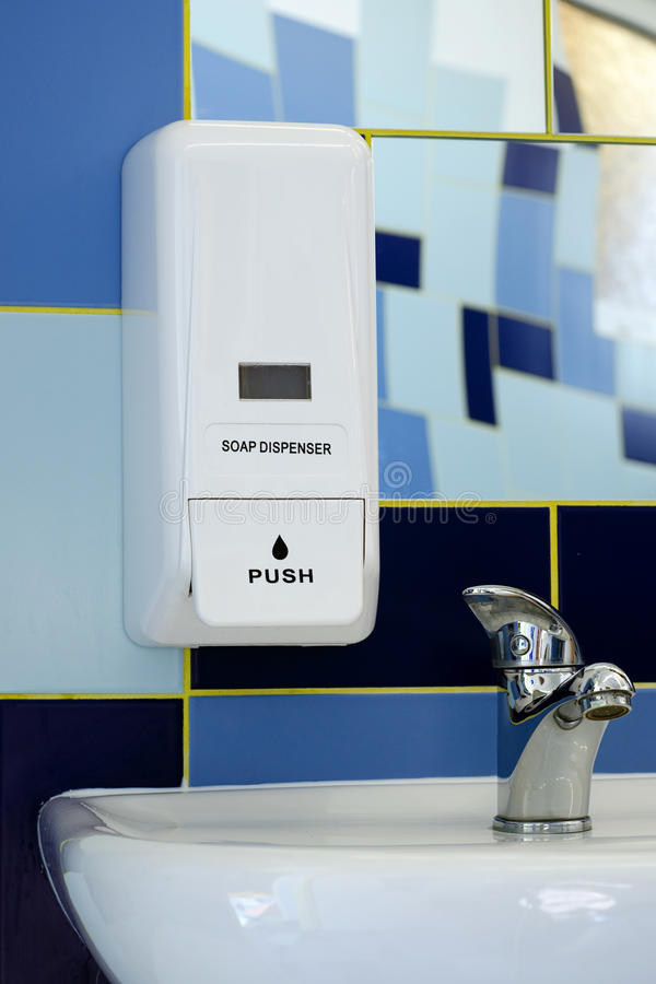 Soap dispenser royalty free stock image