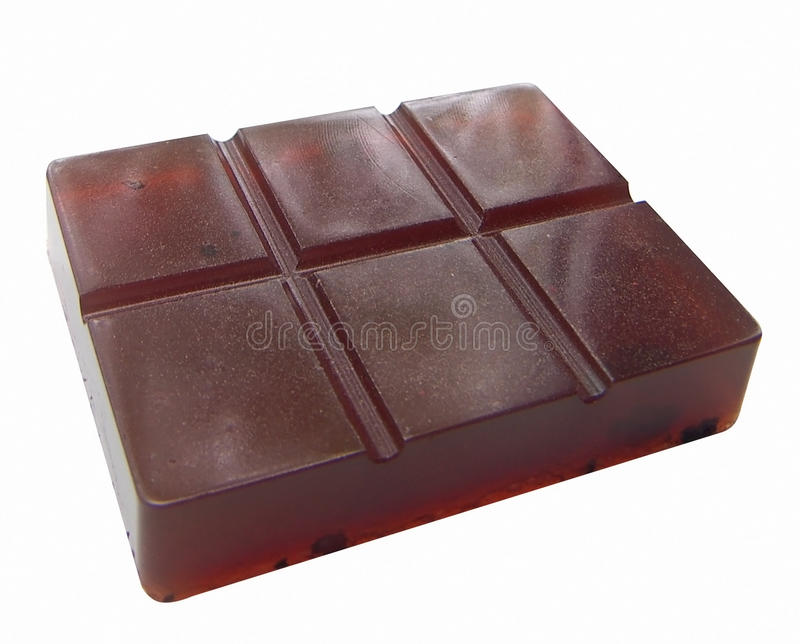 Soap In The Form Of A Chocolate Bar Royalty Free Stock Photo