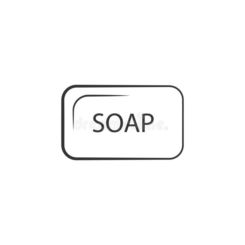 Woman With Bathrobe For Spa Template: Bathroom Color Detailed Icon Stock Illustration