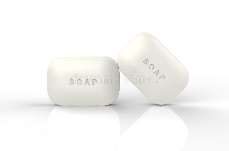 Soap. The image of Bar soap royalty free illustration