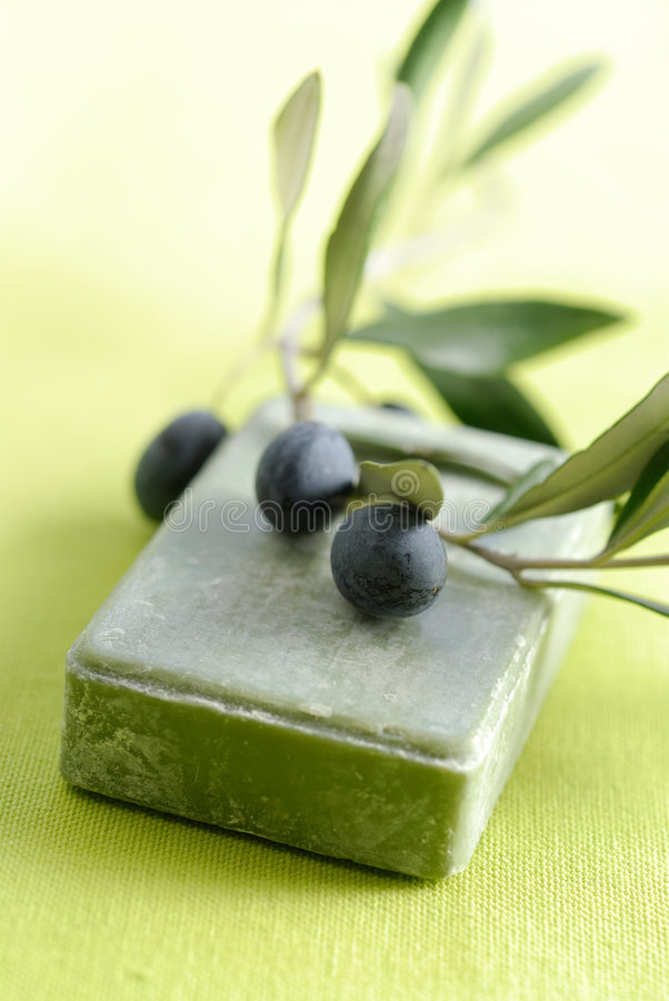 Soap with natual ingredients royalty free stock images