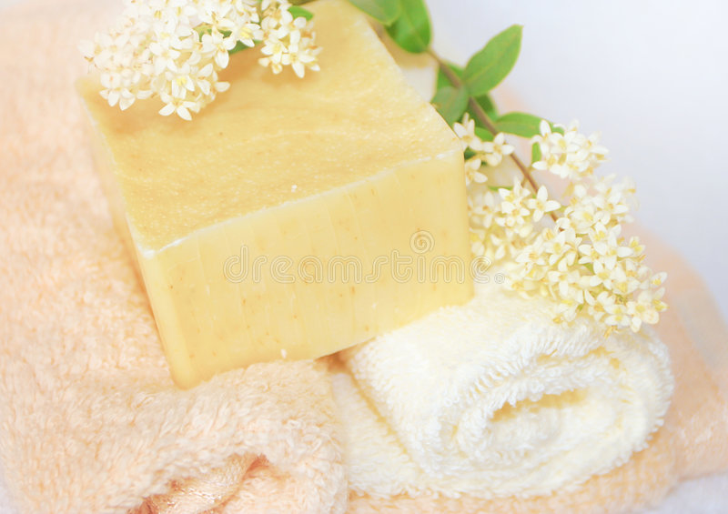 Soap & nature stock images