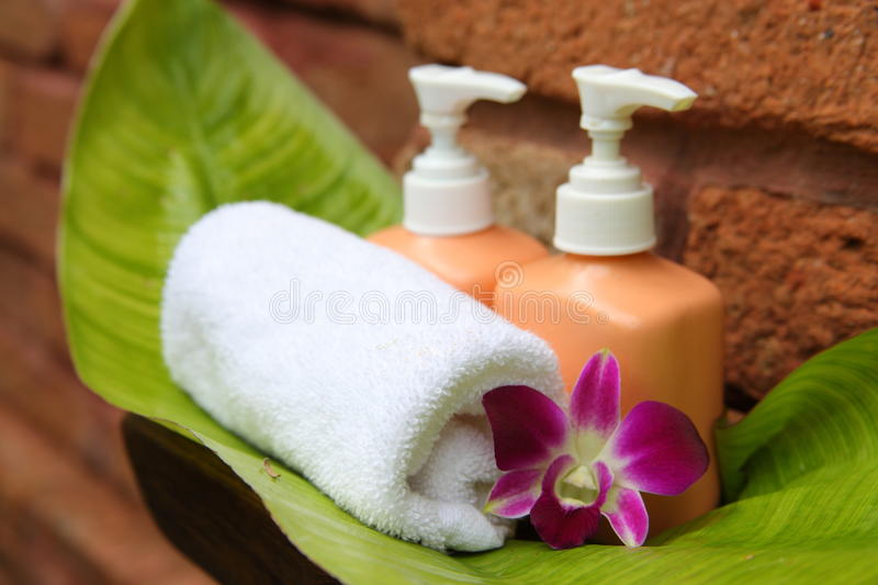 Download Soap and orchid stock image. Image of amenity, bali, caribbean - 22516583