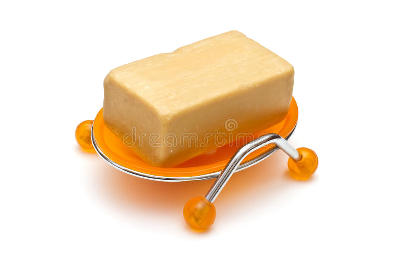 Download Soap in soap-dish stock image. Image of body, beauty - 22146153