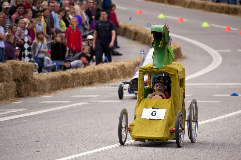 Soapbox Derby photographie stock