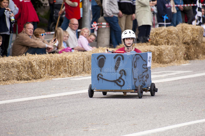 Soapbox Derby Editorial Stock Image